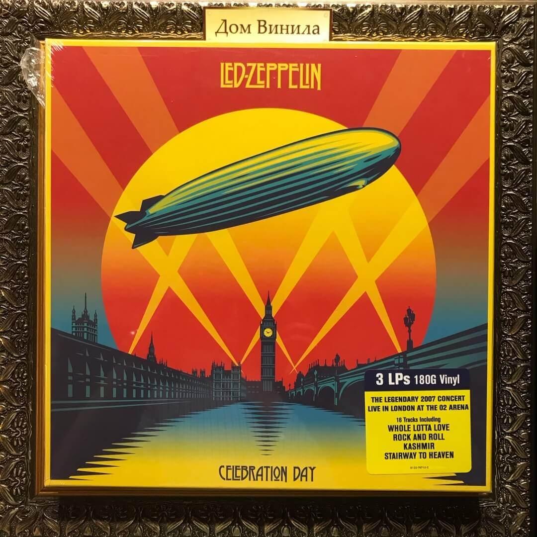 Купить виниловую пластинку Led Zeppelin - Celebration Day - 2012