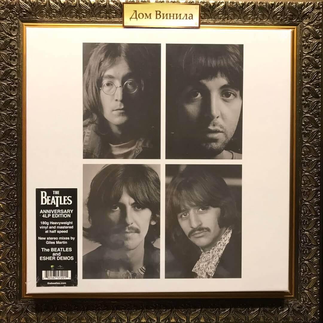 Купить виниловую пластинку The Beatles - White Album - 1968 - Anniversary 4LP edition