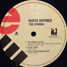 Дом Винила - Busta Rhymes'96 – The Coming