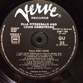 Дом Винила - ​Ella Fitzgerald/Louis Armstrong'70– Ella And Louis