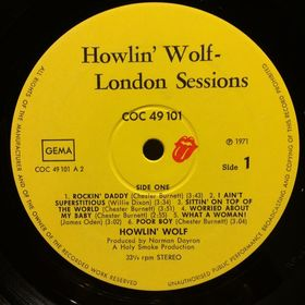 Дом Винила - Howlin' Wolf'71 – The London Sessions