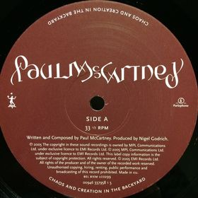 Дом Винила - ​Paul McCartney'05 – Chaos And Creation In The Backyard