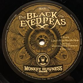 Дом Винила - Black Eyed Peas'05 – Monkey Business