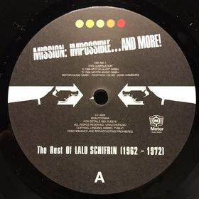 Дом Винила - Lalo Schifrin'96 – Mission Impossible And More!/The Best Of 1962-1972