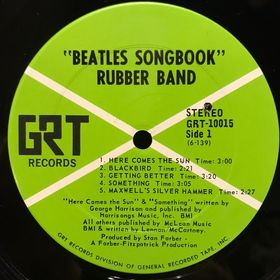Дом Винила - The Rubber Band'69 – Beatles Songbook