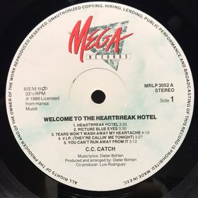Дом Винила - C.C. Catch'86 – Welcome To The Heartbreak Hotel