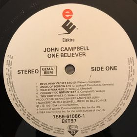 Дом Винила 2 - John Campbell – 1991 – One Believer