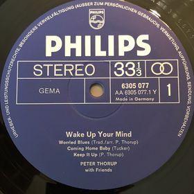 Дом Винила - Peter Thorup And Friends'70 – Wake Up Your Mind
