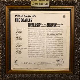 Дом Винила 1 - ​​Beatles – 1963 – Please Please Me – Parlophone – UK (mono gold label)