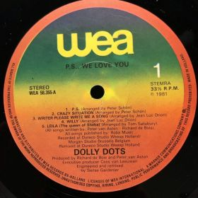 Дом Винила 2 - Dolly Dots – 1981 – P.S. We Love You
