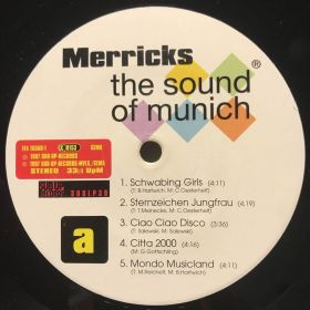 Дом Винила 2 - ​Merricks – 1997 – The Sound Of Munich