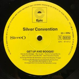 Дом Винила 2 - Silver Convention – 1976 – Get Up And Boogie​​